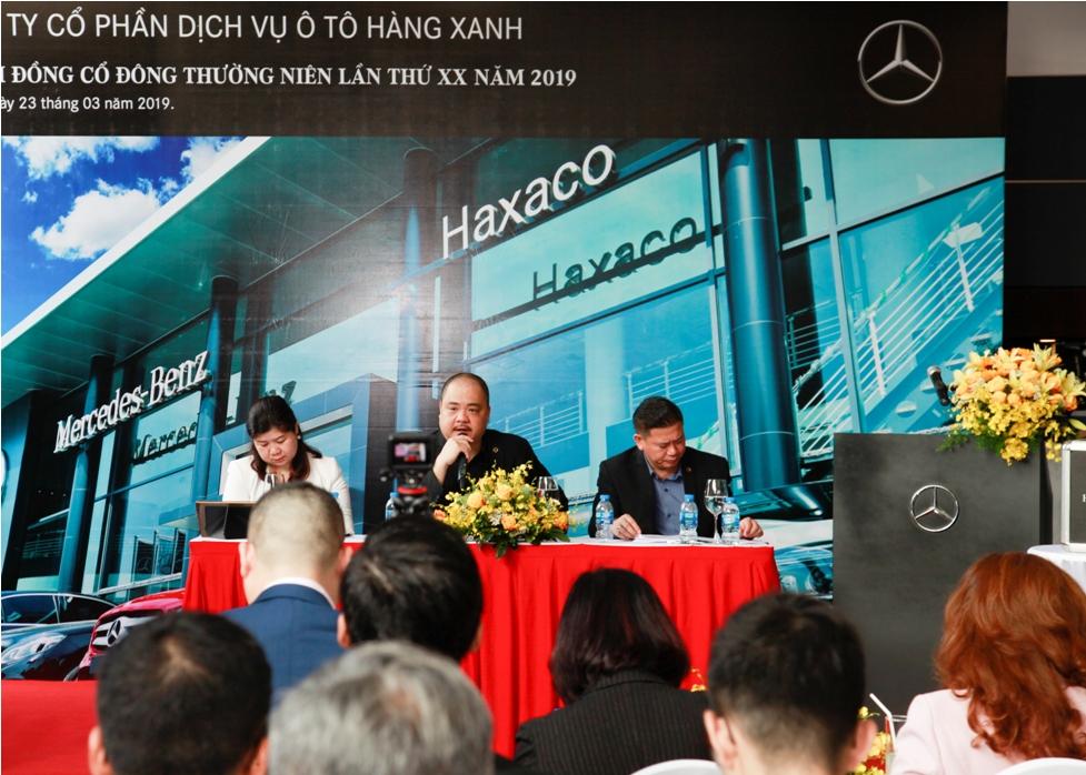 đại hội đồng cổ đông haxaco (hax): đặt kế hoạch lãi 121 tỷ đồng, đề xuất thưởng lớn cho lãnh đạo